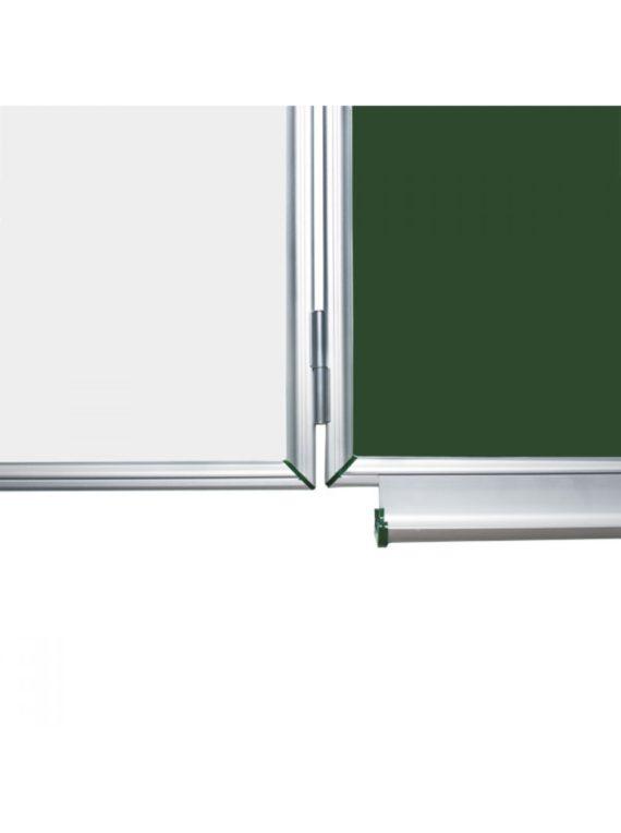 Шкільна дошка крейдова 5 ПОВ., 300х120 СМ фото 55273