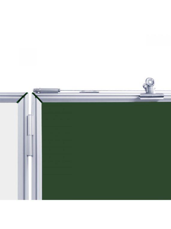 Шкільна дошка крейдова 5 ПОВ., 300х120 СМ фото 55274