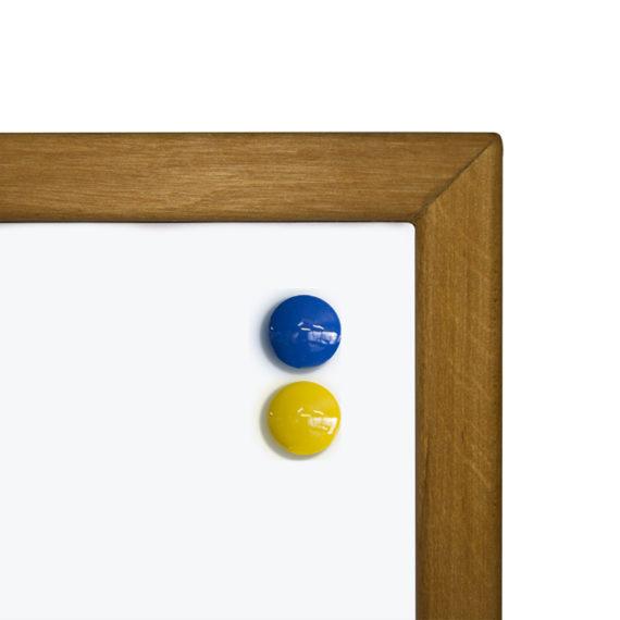 Фліпчарт магнітно-маркерний в дерев'яній рамі 700х1000 мм фото 52468