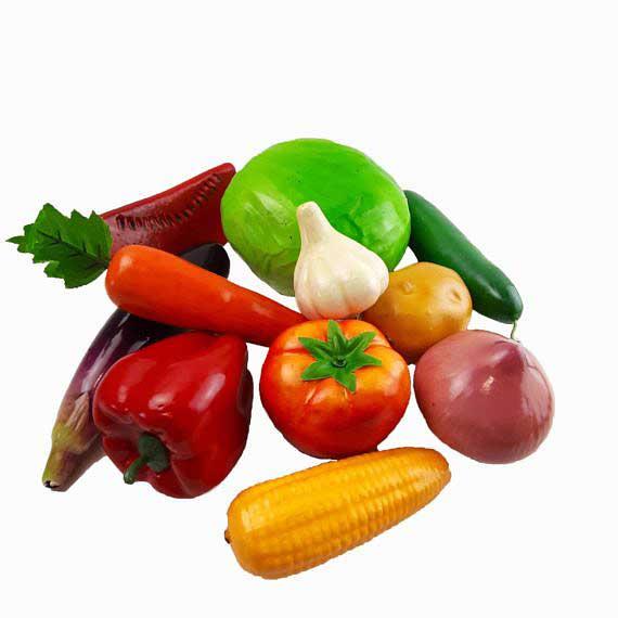 Муляжі «Овочі» демонстраційний набір фото 52182