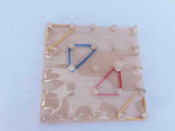 "Математичний планшет  ""Фантазуємо з резиночками"" фото 53683"