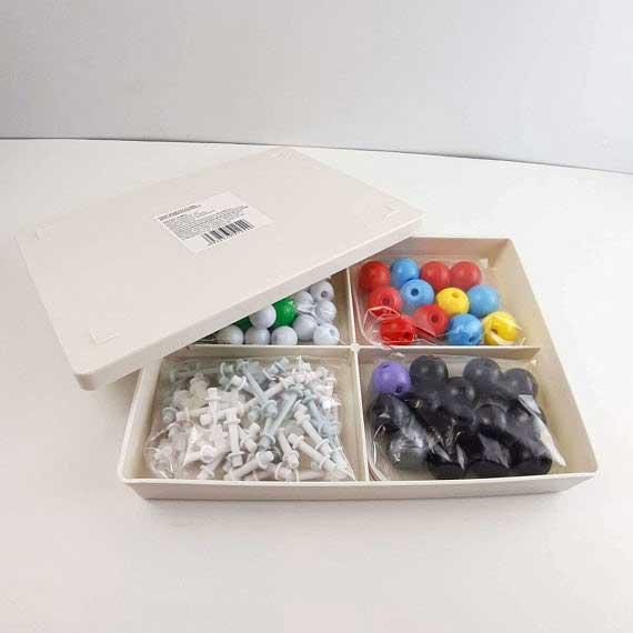 Моделі атомів для складання молекул фото 52208