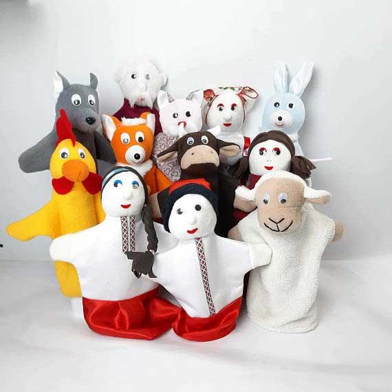 Кукольный театр «Родина» и «Животные»