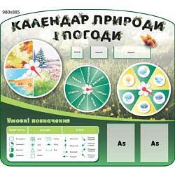 Календар погоди і природи НУШ