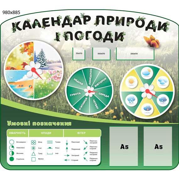 Календарь погоды и природы НУШ фото 49062