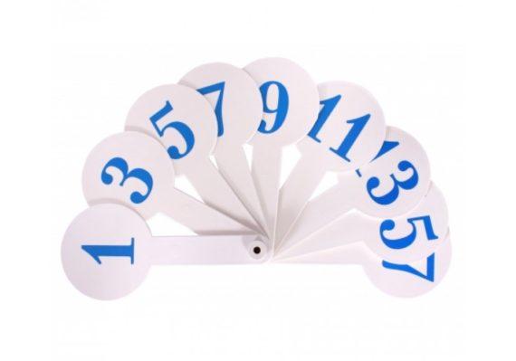 Каса-веяло чисел от 0 до 20