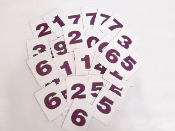 Демонстраційний набір цифр і знаків на магнітах фото 51983