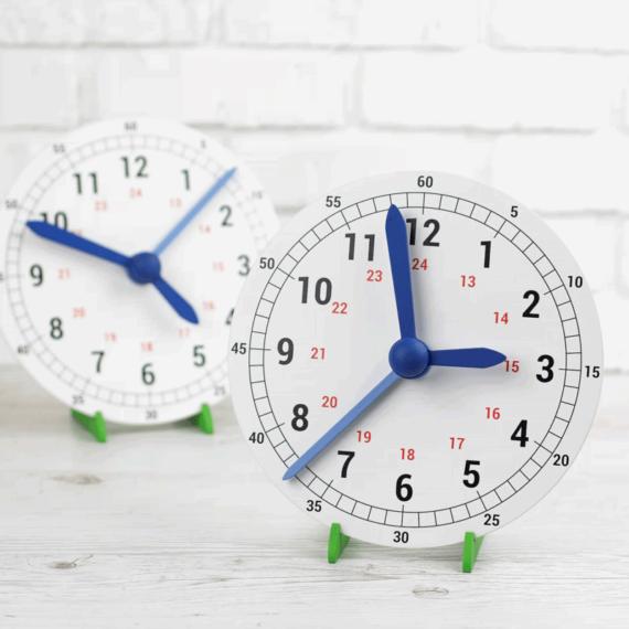 Модель механических часов (демонстрационная)