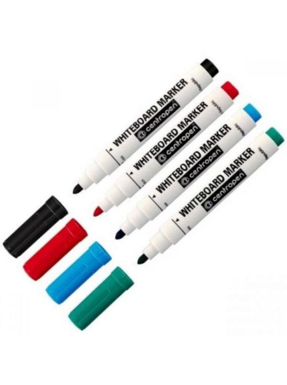 Маркеры разноцветные CENTROPEN, 4 ШТ. фото 49479