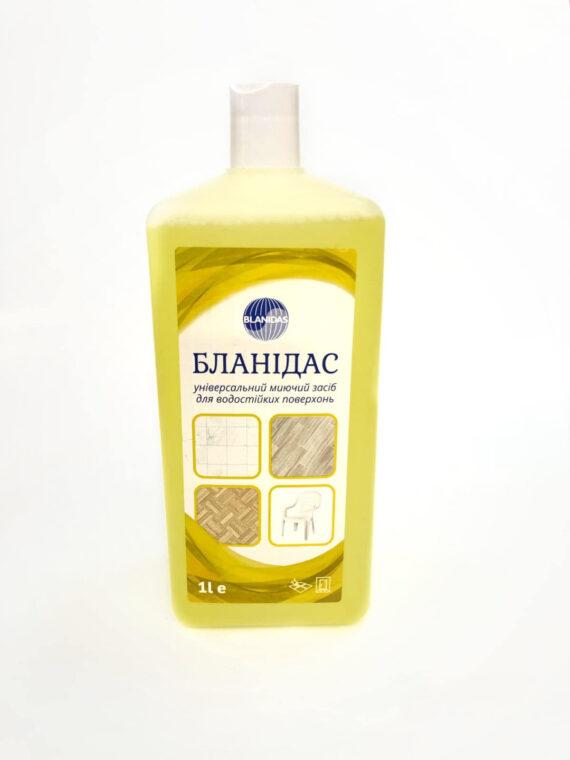 Бланидас-Универсальное моющее средство для водостойких поверхностей, 1л фото 67474