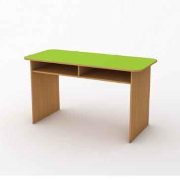 """Дитячий стіл """"Мишеня"""" двомісний з полицею"""
