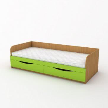 Ліжко одномісна з ящиками КДО-001Я
