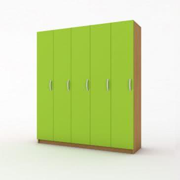 Шкаф для одежды 5 секций