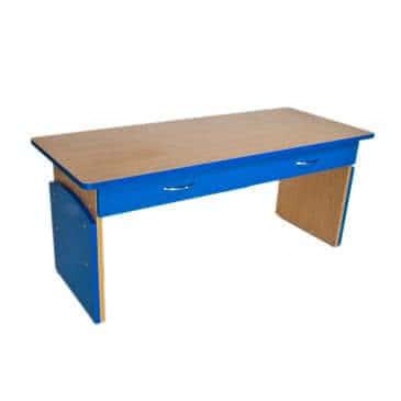 """Дитячий стіл """"Ростик"""" регульований 2-х місний з полицею"""