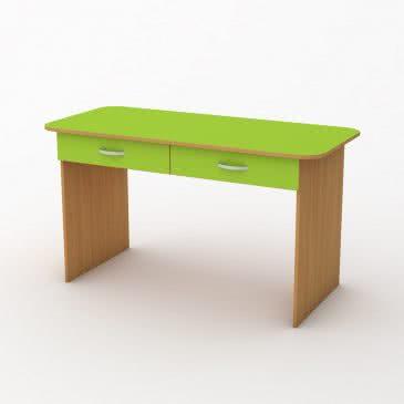 Дитячий стіл «Мишеня» двомісний з ящиками
