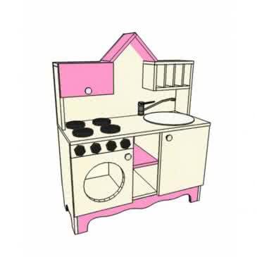 Стінка дитяча «Кухня»