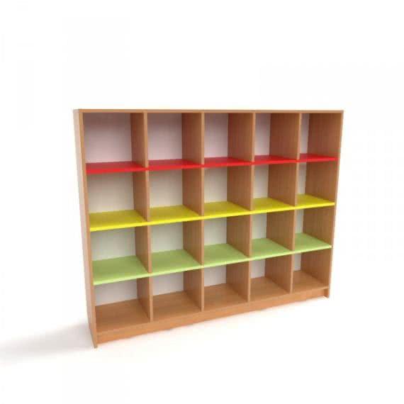 Шкаф для горшков в детский сад от производителя фото 46630