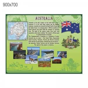 "Стенд ""Австралия"" зеленый"