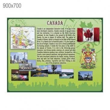 Стенд «Канада» зеленый