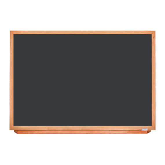 Школьная доска в деревьяном профиле КЛАСИК, 150х100 СМ фото 53988