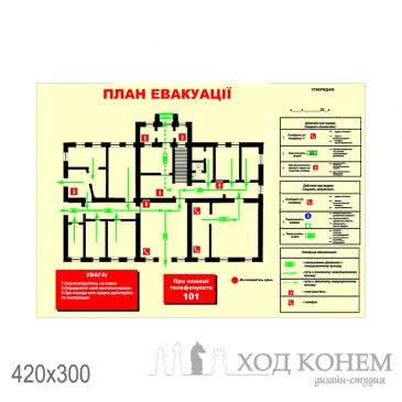 План евакуації лікарні