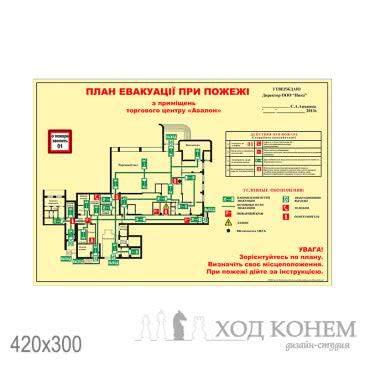 План эвакуации а3