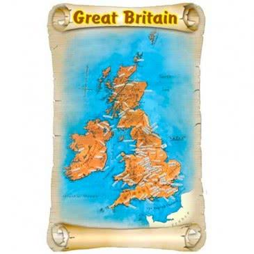 Британия карта