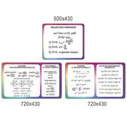"""Стенд """"Математика навколо нас"""" ХК 600156"""