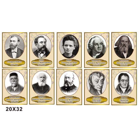 Комплекс портретов химиков