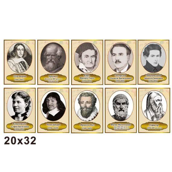 Комплекс портреты математиков