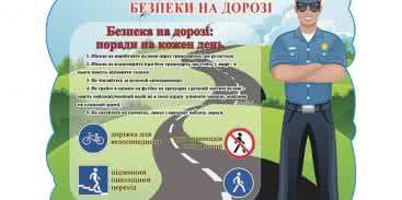 Стенди про правила дорожнього руху в дитячий сад