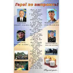 Вічна пам'ять загиблим землякам