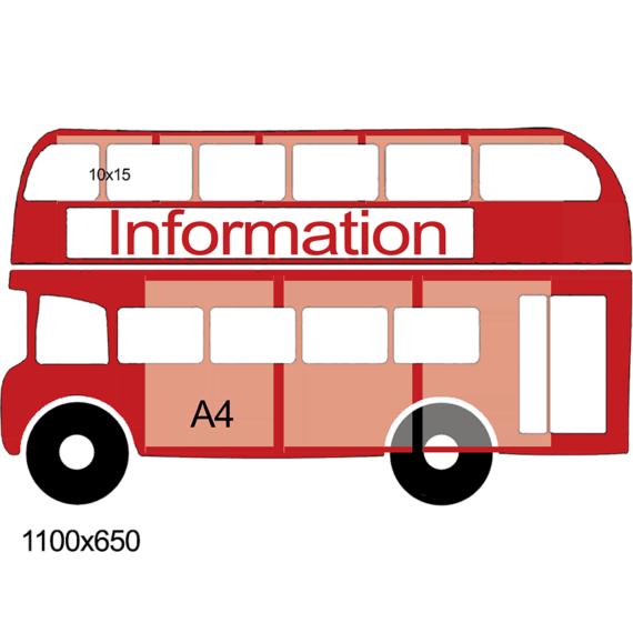 "Стенд ""Information"" автобус фото 52858"