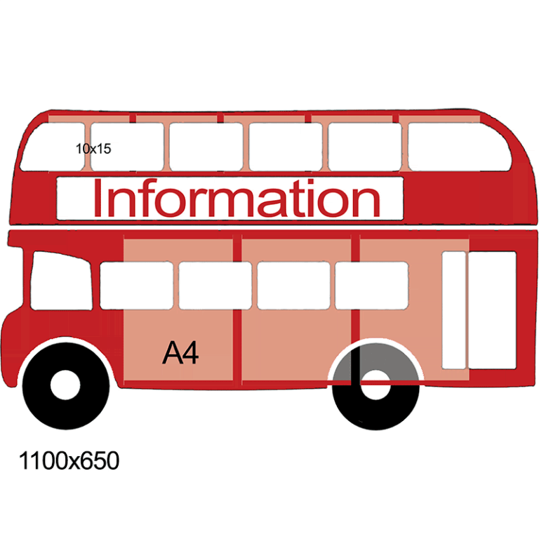 """Стенд """"Information"""" автобус"""