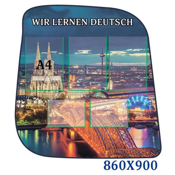 Фигурный стенд в кабинет немецкого языка фото 44516