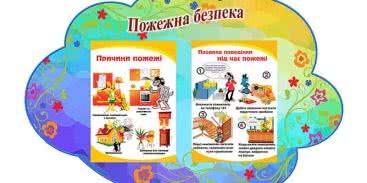 Стенды о пожарной безопасности в детский сад