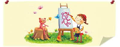 Стенди для виробів в дитячий сад